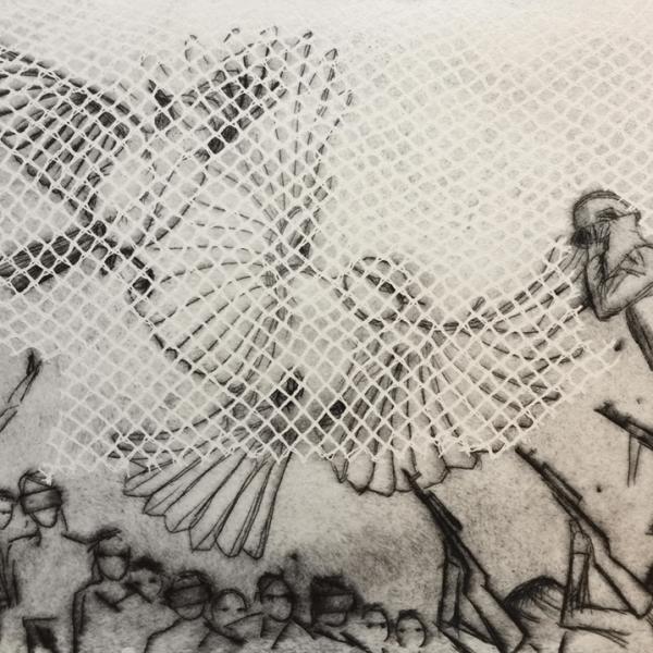 de Goya Project – Image 2, 29,5 x 39,5 cm, drypoint